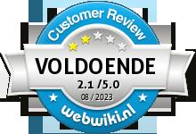 feestfirma.nl Beoordeling
