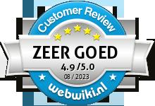 geurenpaleis.nl Beoordeling