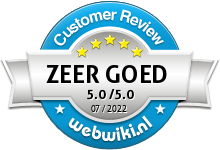 prijsvragengala.nl Beoordeling