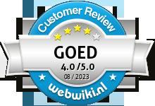 1001kerst.nl Beoordeling