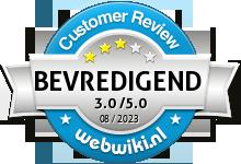 all4fysio.nl Beoordeling