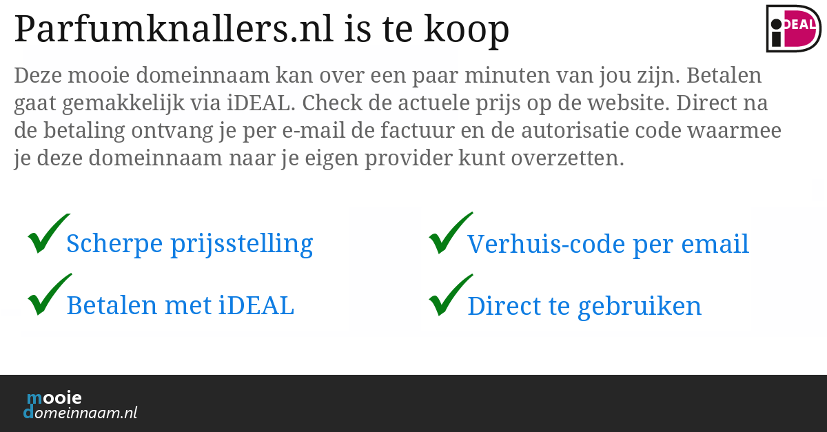 (c) Parfumknallers.nl