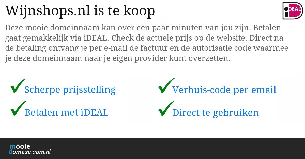 (c) Wijnshops.nl