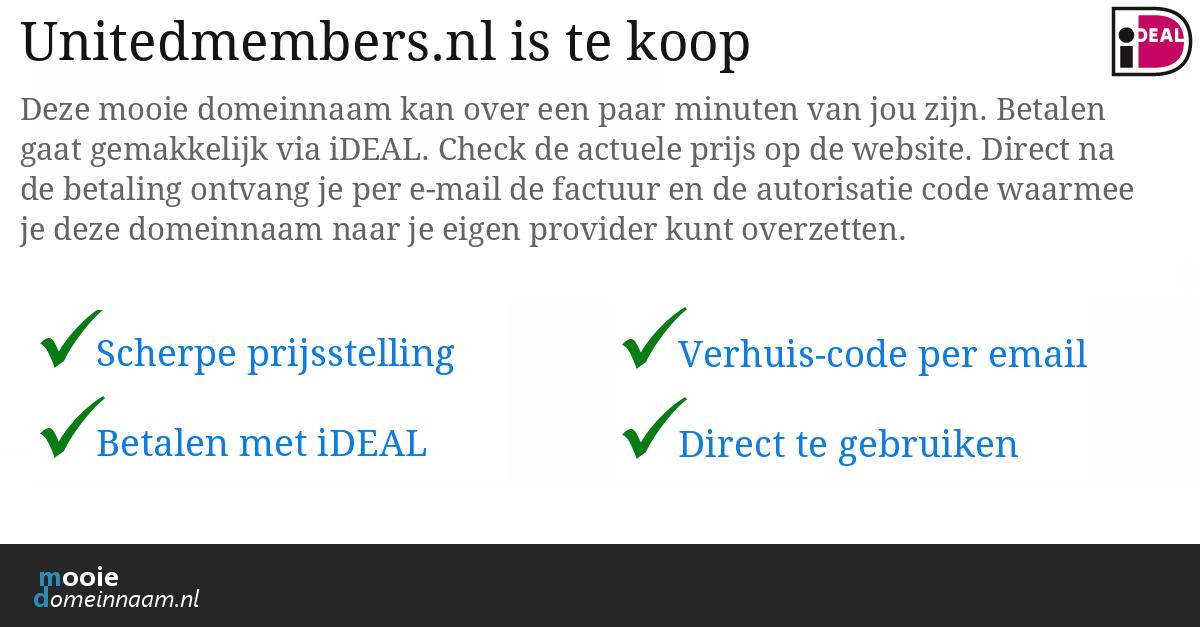 (c) Unitedmembers.nl