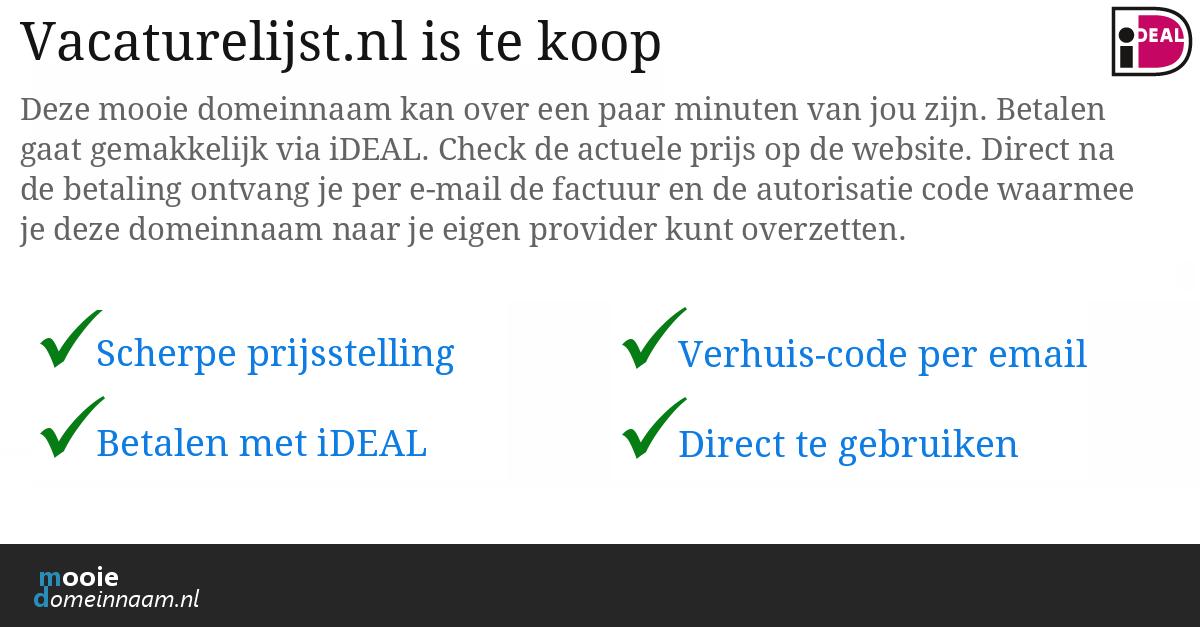 (c) Vacaturelijst.nl